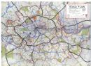 LONDON: Planned inner ring road system. Classification of Roads;1943 map